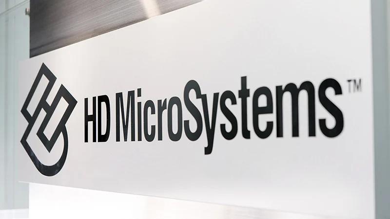 HDマイクロシステムズの会社ロゴの写真